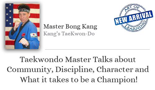 Master Kang stampcard